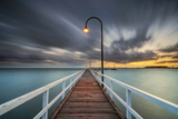 Lagoon Pier 2 Photographic Print by Lincoln Harrison