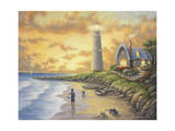 Lighthouse Giclee Print by John Zaccheo