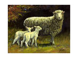 Mothers Day Giclee Print by Jerry Cable