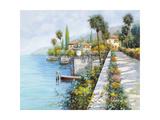Lungo Lago Giclee Print by Guido Borelli