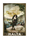 Malta Giclee Print