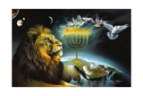 Menorah Giclee Print by Spencer Williams
