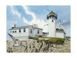 Lighthouse Giclee Print by William Vanderdasson