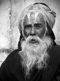 Nepal Saddhu II Papier Photo par Nina Papiorek