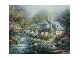 Little River Cottage Reproduction procédé giclée par Nicky Boehme