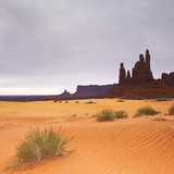 Monument Valley Panorama 1 2 of 3 Photographic Print by Moises Levy