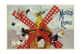Moulin Rouge 1895 Giclee Print