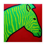 Irish Zebra Giclee Print by John Nolan