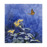 Monarch Butterfly Giclee Print by Rusty Frentner