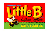 Little B Brand California Vegetables Giclee Print