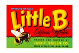 Little B Brand California Vegetables Giclee Print