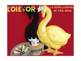 Loie D or La Reine Des Cremes Reproduction procédé giclée