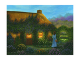 Irish Cottage Giclee Print by Bonnie B. Cook