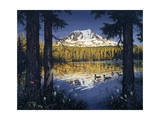 Mt Adams Giclee Print by Jeff Tift