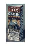 Log Cabin Sarsaparilla Giclee Print