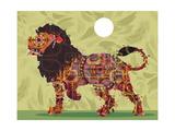 Lion Giclee Print by Teofilo Olivieri
