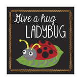 Ladybug Giclee Print by Erin Clark