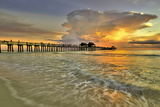 Naples Pier 2 Photographic Print by Dennis Goodman