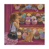 My Little Cupcake Giclee Print by Tricia Reilly-Matthews