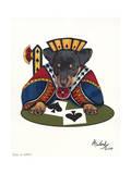 Jack of Spades Giclee Print by Jenny Newland