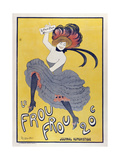 Le Frou Frou Giclee Print