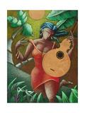 Musician Giclee Print by Oscar Ortiz