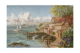 Mariner's Haven Giclee Print by Nicky Boehme