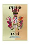 Italian Perfume Ad Giclee Print