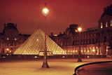 Louvre Photographic Print by Sebastien Lory