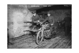 Indian Motor Cycle Ambulance Photographic Print