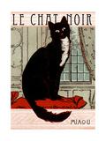 Le Chat Noir 1 Reproduction procédé giclée