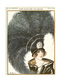 Lavie Parisienne Featherhat Giclee Print