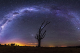 Milky Way Pano 2 Photographic Print by Lincoln Harrison