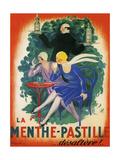 Menthe Pastille Giclee Print