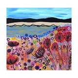 Life's a Beach Giclee Print by Caroline Duncan
