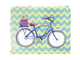 Jane Bike Giclee Print