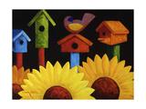 Midnight Garden Giclee Print by Oscar Ortiz