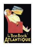 Le Bon Bock Atlantique Stampa giclée