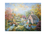 Moral Guidance Giclee Print by Nicky Boehme