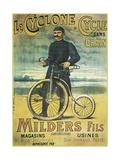Le Cyclone Cycle Giclee Print