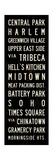 New York Transit Sign Giclee Print by Michael Jon Watt