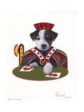Jack of Hearts Giclee Print by Jenny Newland