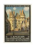 Langeais Les Chateaux De La Loire Giclee Print