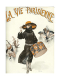 Lavie Parisienne Hatbox Giclee Print