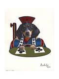 Jack of Clubs Giclee Print by Jenny Newland