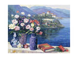 Mediterranian Scene Giclee Print by John Zaccheo