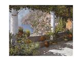 la Terrazza a Positano Impression giclée par Guido Borelli