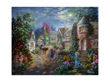 Moonlight Splendor Giclee Print by Nicky Boehme