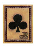 Jack of Clubs Giclee Print by John Zaccheo