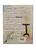 Keep an Open Mind Giclee Print by Tammy Kushnir